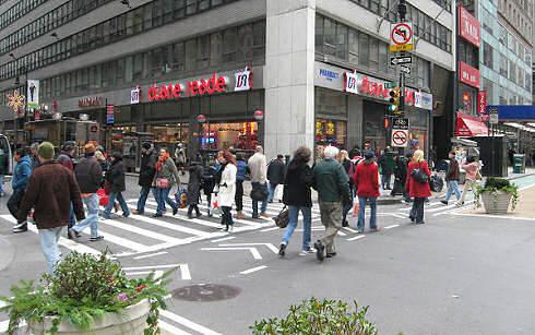 Broadway bikeway, Manhattan