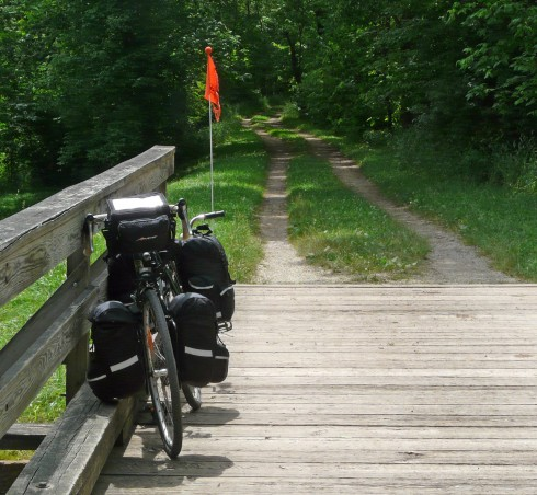A better section of the C&O towpath trail