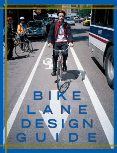 Cover of the Chicago Bike Lane Design Guide